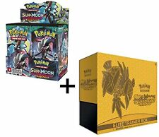 Pokemon Sun & Moon Guardians Rising Booster Box And Elite Trainer Combo
