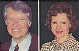 President Carter and First Lady Rosalynn Carter - Unused Plastichrome Postcard
