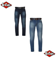 Jeans coupe slim homme de marque Lee Cooper 2 coloris au choix du 40 au 48