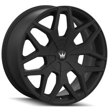 "Mazzi 367 Profile 20x8.5 5x110/5x115 +35mm Matte Black Wheel Rim 20"" Inch"