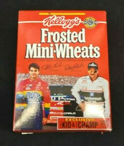 1995 Frosted Mini Wheats The Kid and The Champ Jeff Gordon Dale Earnhardt Nascar