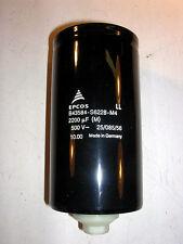 EPCOS Aluminum Electrolytic Capacitor B43584-S6228-M4 500V @  2200UF