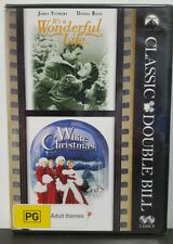 It's a Wonderful Life / White Christmas DVD B&w PAL Region 4 Aust Post