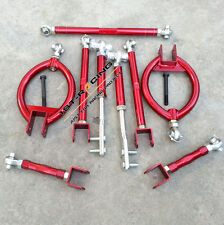 FOR 89-94 Nissan 240SX S13 Silvia Rear Front Traction Control arms+Tension Rods