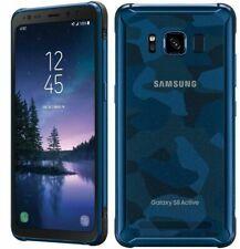 Samsung Galaxy S8 Active SM-G892A 64GB Camo Blue AT&T Smartphone
