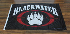 New Blackwater Black Flag Banner Sign Academi Military Army Security Paw Logo