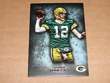 2012 Topps Inception AARON RODGERS #20 Blue Variant SP/252 Green Bay PACKERS Cal