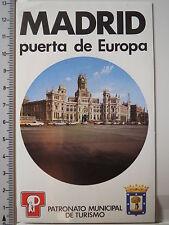 Adesivo sticker Madrid-Spagna-Puerta de Europa (2892)