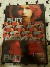 2005 Run Lola Run Dvd -Region 1 -German Film-Rated R-Widescreen- *Read Below*