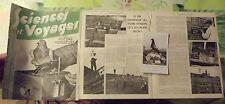1938 Sciences & Voyages Les Pigeons Voyageurs,Colombogramme du Commandant Raynal