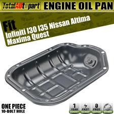 New Lower Engine Oil Pan for Infiniti I30 I35 Nissan Altima Maxima Murano Quest