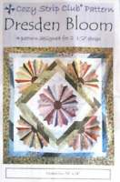 Dresden Bloom Quilt Pattern by Cozy Quilt Designs