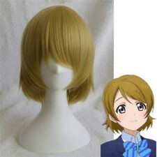 Love Live! LoveLive Koizumi Hanayo Cosplay Wig Short Mixed Color Anime Hair Wigs