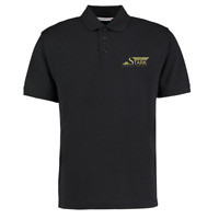 Stark Industries 1942 Polo Shirt Mens Embroidered Short Sleeve Button TShirt Top