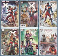 MAJOR X 1 2 3 4 5 6 (1st PRINT) X-Men Cable Wolverine Liefeld Marvel 2019 NM- NM
