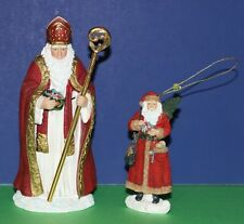 Pipka Collector's Club St. Nicholas figurine The Collector Santa Claus ornament