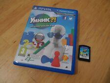Smart As... (Sony PlayStation PS Vita) Russian version (EN,RU,ES,PR) No French