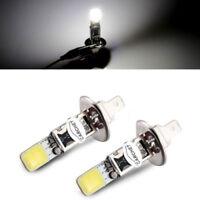 CARCHET 2X H1 Xenon White 6000K COB LED SMD Driving Fog Beam Head Lights Bulb
