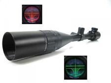 Zielfernrohr 6-24x50 Mil Dot Riflescope mit Montagen 17-22 mm
