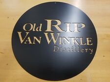Old Rip Van Winkle Distillery Metal Wall Art Plasma Cut Home Decor Gift Idea...