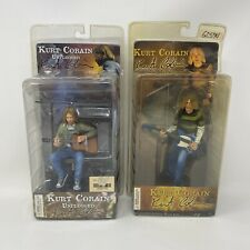 NECA Kurt Cobain Action Figure Toy Set Of Two