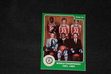 ROBERT PARISH, ROGERS, FORD 1985 STAR CELTICS WORLD CHAMPS SIGNED AUTO CARD #9
