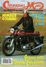 CHRONIQUES MOTO 38 GUZZI V7 750 Le mans NORTON 850 COMMANDO NUMBUS TERROT 500