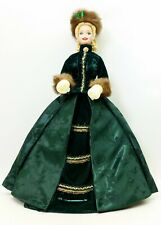 1996 Mattel Holiday Caroler Porcelain Barbie Doll No.15760 NIB
