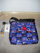 New ListingDisney Harveys Mickey Sorcerers Apprentice Mini Messenger Purse, Bow & Swag New