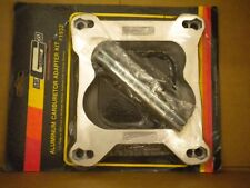 Holley to Rochester carb adapter with studs and gaskets MR Gasket part # 1932