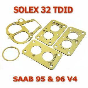 Solex 32 TDID service gasket kit repair set for Ford Capri, Saab V4