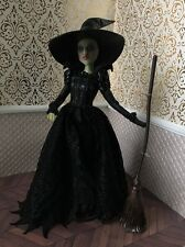 Wicked Witch West Disney OZ Doll Film Collection OOAK Repaint Retrograde Works