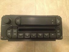 2005 Jeep Liberty Radio, Part No: P05091506AD