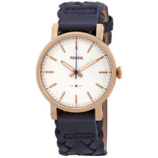 Fossil Original Boyfriend White Dial Ladies Watch ES4182