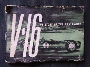 1954 V16 Story of the BRM Engine ENERGOL HB Book