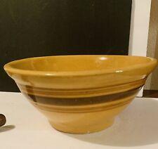Primitive Yellow Ware Bowl