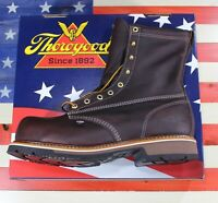 "Thorogood American Heritage 8"" Composite Emperor Toe Boot Made in USA [804-4368]"