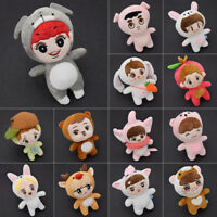 Kawaii Kpop EXO Cartoon Plush Toy Stuffed Dolls Fans Gift SUHO SEHUN CHANYEOL