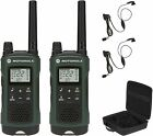 Motorola Talkabout T465 Rechargeable Two-Way Radio, Green - 2 Pack