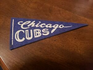 1950s Chicago Cubs mini pennant nice!
