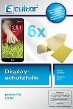 6x LG G2 Film de protection d'écran protecteur cristal clair