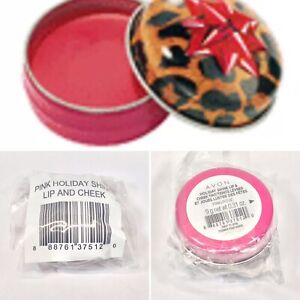 Avon Holiday Shine Lip & Cheek Tint PINK/ROSE   - New/Sealed