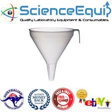Industrial Filter Funnel Polypropylene Chemistry Lab 250mm Science Equip Au