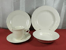 "44-PCS. (OR LESS) OF MIKASA ""RENAISSANCE WHITE"" PATTERN D4900 FINE CHNA"