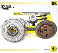 LUK REPSET PRO 3 Piece Clutch Kit Ford Street Ka, 1.6 (05/03 - 07/05) 619306433
