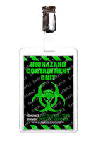 Zombie Outbreak Security Division Cosplay Prop Fancy Dress Comic Con Christmas