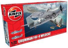 Airfix Grumman F4F-4 Wildcat 1:72 Scale Plastic Model Airplane A02070