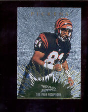 1997 CE Masters CARL PICKENS Cincinnati Bengals Nitro Gold Insert Card