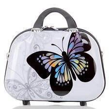 Reise Beautycase mit Hartschale aus Polycarbonat/ABS Gr.S - BB Butterfly