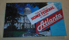 Rare Vtg 1983 All About Atlanta Home Federal Bank Board Game Novelty New Sealed